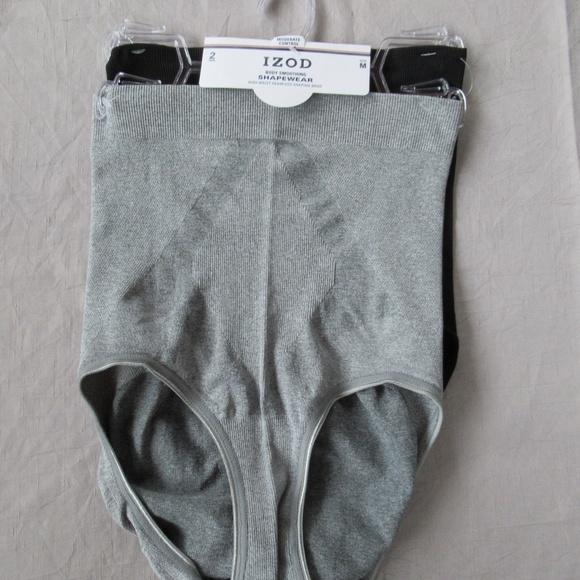 bbafe5d25497 IZOD Intimates & Sleepwear | 2 Pack High Waist Shaping Briefs M Gray ...